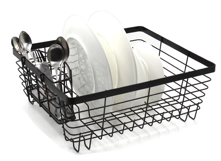 EasyPAG High Quality Modern Chrome Plated Wire Kitchen Organizer Dish Draining Rack