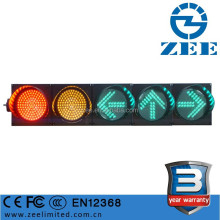 Low Power Consumption Solar 24V Traffic Light Aspect LED Traffic Signal Light