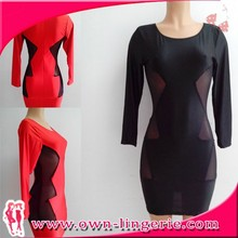 knee length red dress for women online shopping for wholesale clothing
