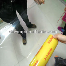 vegetable anti fog film 11 mic casting food grade pvc cling film packaging film