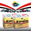 KINGFX Brand auto refinish solid green car paint for car designs