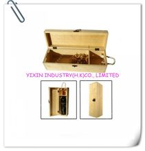 High Quality Wooden Gift Wine Case for 1 Bottle YIXING3290