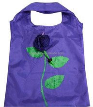 Rose flower Bags Eco Reusable Shopping Bag Foldable Bag