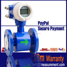 Liquid flow measurement alkalis electronic electromagnetic magnetic flow meter