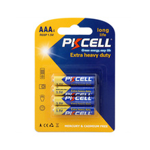 PKCELL High Quality Carbon Zinc aaa Battery r03p 1.5v um-4 Size Dry Batteries for Toys,Camera