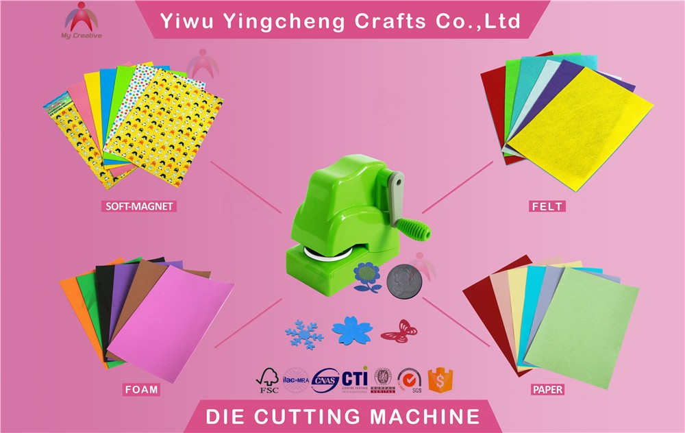 2017 new design custom craft paper punch and die