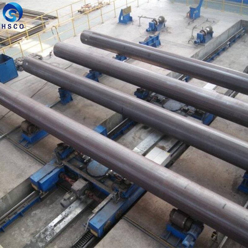 Piping Solution Black Round Steel Pipe Carbon LSAW steel pipe