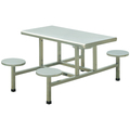 BN-W37 Commercial stainless steel 4 people dining table