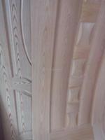 Natural Ash Veneer Faced HDF exterior door skin