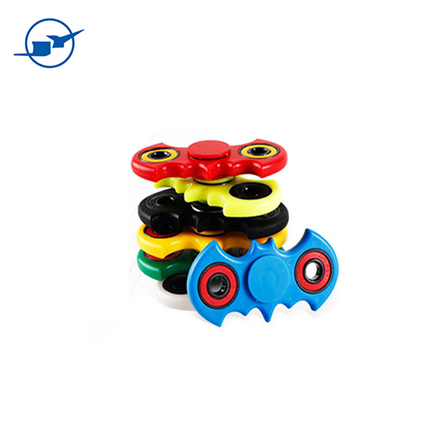 new cheap small toys batman light spinner toy plastic for children promotion gifts