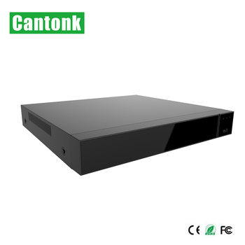 Cantonk 36ch cctv NVR recorder with 2 x SATA support 4K and 12mp camera