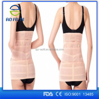 hot postpartum back support belt for woman pelvis belly slim premium neoprene back waist belt