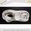 SAA approve Australian white extension cord 3-pin plug cord with female plug