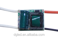 Factory AC DC Constant Current 2-3W 300mA 12v led driver In shenzhen