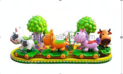 Funny Wood indoor kids trains attractive kiddie rides children loved electric train for wooden track for amusement park