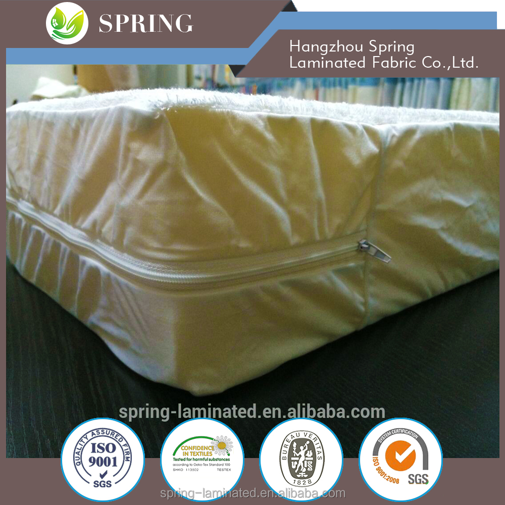 fitted sided wall China Super King Waterproof Size Bed 15 inch Extra Deep Mattress Protector Cover