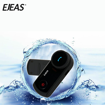 EJEAS Mini Intercom E2 Gaming Headset for 4 Riders Street Motorcycle