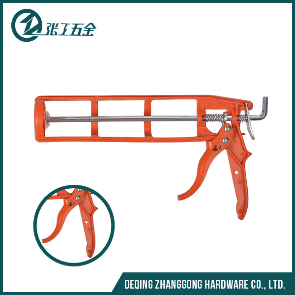 New design top quality double jointing compound caulking gun