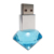 High Quality Diamond shape crystal USB flash drive with LED light