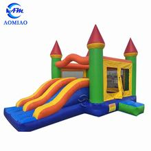 Fantastic mouse inflatable jumping castle bounce house bouncy castle with water slide