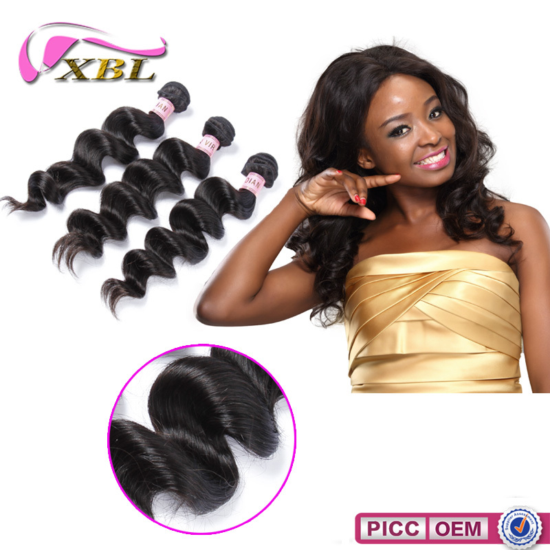 Raw Unprocessed Virgin Indian Hair Guangzhou XiBoLai Hair Products Firm