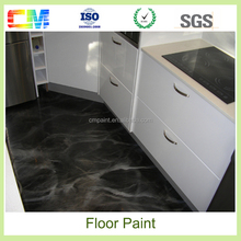 Metallic epoxy resin flooring 3d metallic epoxy floor coating pigment china supplier