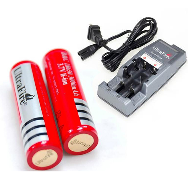 Hot sale ultrafire 18650 rechargeable battery for led light