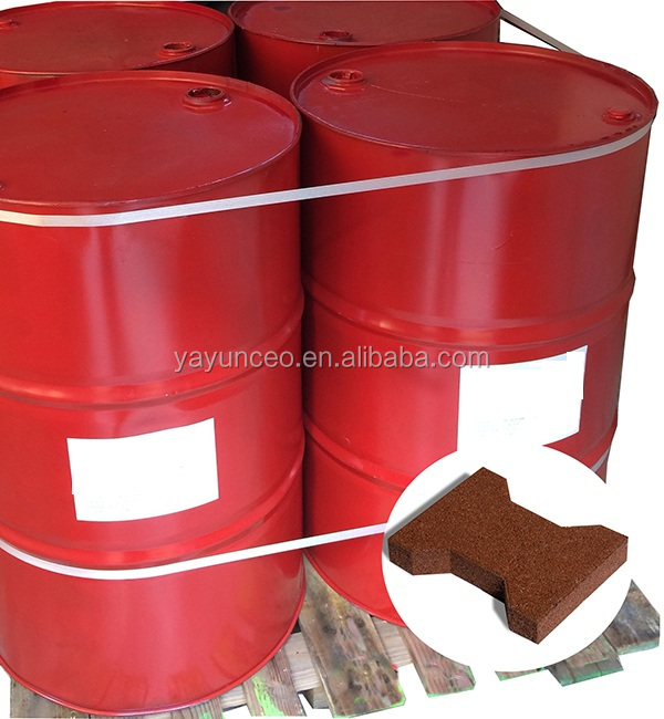 non yellowish strong bonding polyurethane adhesive for rubber tile installation
