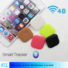 Wholesale Mini Square ABS Wireless Bluetooth Tracker Key Finder GPS Locator Anti Lost Alarm