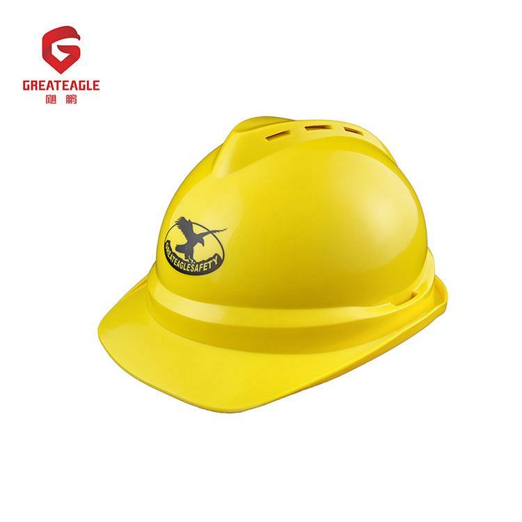 Factory price chin strap high rigidity safety helmet en397