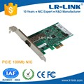 LREC9030PF-SFP PCI Express 100M NIC Card based on intel 82574