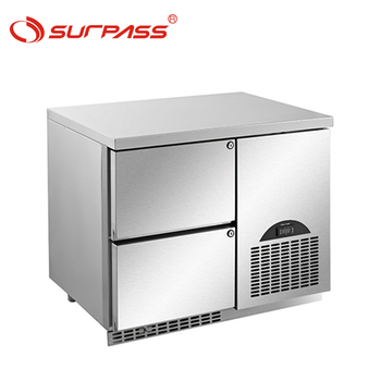 Restaurant kitchen equipments worktable refrigerator
