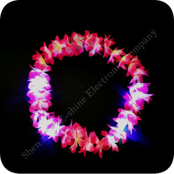 Colorful Party Light Up Flashing Garland