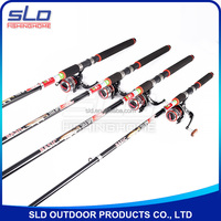 Best Telescope spin fishing rod and spin fishing reel combo in carrying fishing bag