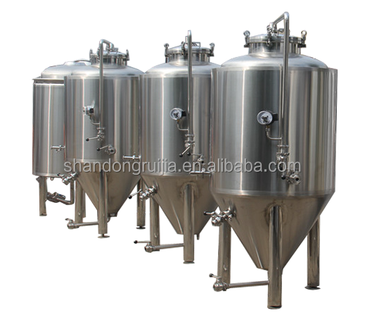 300L beer brewing system and stainless steel beer serving tank