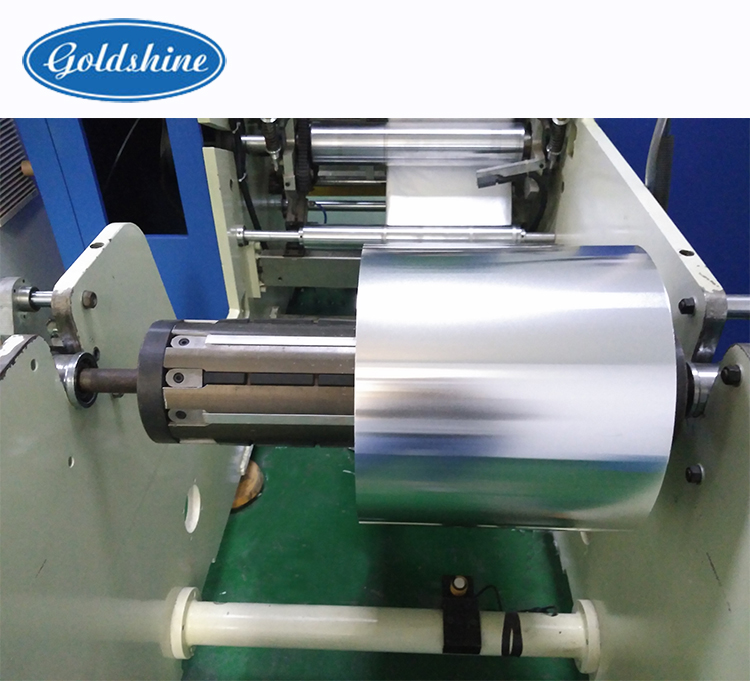 Full automatic rewinding and cutting machine for wax paper, parchment paper machinery
