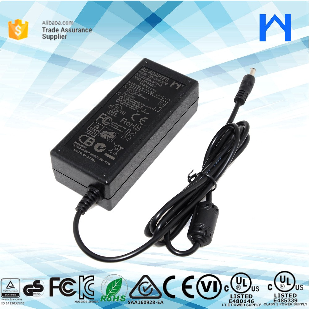 24W ac to dc universal power supply 12V 2Amp adapter for LED lighting products