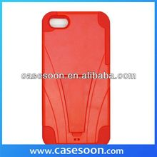 Future Armor Stand cell phone case with KICKSTAND/ STAND For iPhone 5C ,For iPhone 5C Case Cover