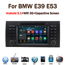 2016 Latest android 5.1 car stereo for BMW E39 E53 X5 with Wifi 3G GPS Bluetooth Radio RDS CANBUS Steering wheel control