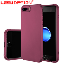 LEEU DESIGN airbag oil injection tpu mobie phone cover luxury case for iphone 7