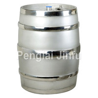 stainless steel keg and wine