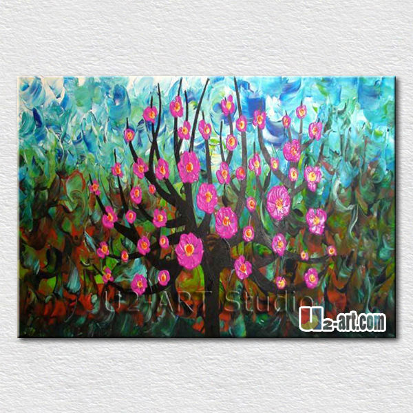 Wall hangings canvas oil painting flowers for friends <strong>gift</strong>