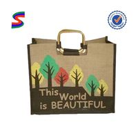 Jute Gunny Bags Sacks Jute Shopping Bag Laminated