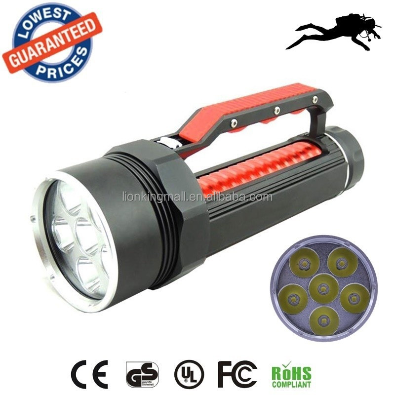 AloneFire DV700 diving flashlight led light Underwater torches magnetic switch led diving flashlight