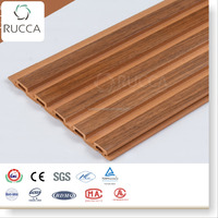 Rucca wood composite interior wall decoration, manufactured home wall panels159*10mm prefabricated houses building materials