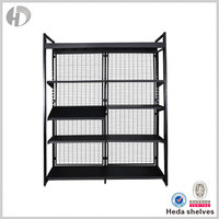 Factory Price Durable Free Standing Wire Display Racks
