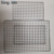43*34cm 56*41cm Barbecue BBQ grill wire mesh net/stainless steel crimped wire mesh