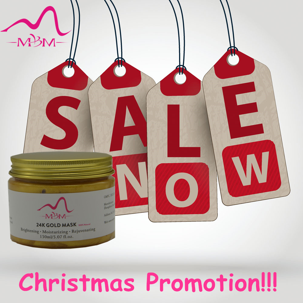 Christmas Promotion!!!!! 24K GOLD Active Face Mask Powder Brightening Luxury Spa Anti Aging Wrinkle Treatment Facial Mask