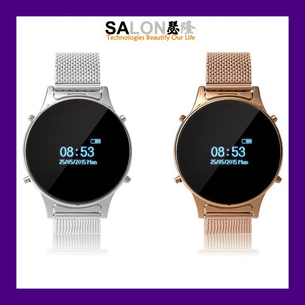 "2015 New Arrival 0.97"" OLED round Smart Bluetooth Watch with Phone Function CPU MTK 6260"