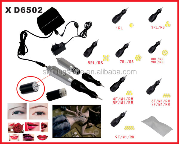 2017 hot sale High quality Professional Eyebrow Permanent Makeup Kit swiss motor